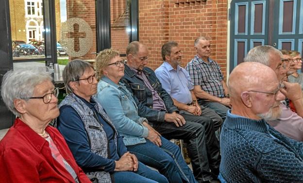 Publikum lyttede til musikken og fortællingen om Holyday og Simone. Foto: Mogens Lynge Mogens Lynge