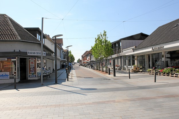 Jernbanegade, Brovst. Foto: Jammerbugt Kommune