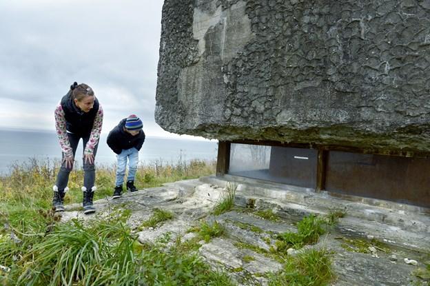 Traditionen tro er der skattejagt på Bangsbo Fort i efterårsferien. Arkivfoto:Bente Poder