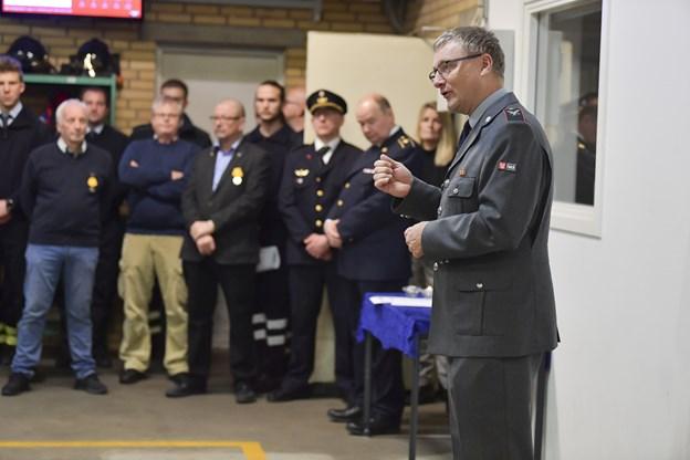 Falcks områdeleder Niels Nørhave. Foto: Bente Poder