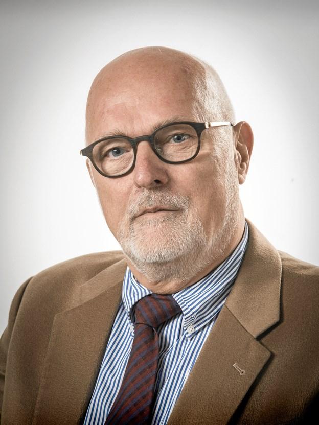 Hans Peter Jensen, 70 år lørdag 13. oktober 2018. Foto: Privat.