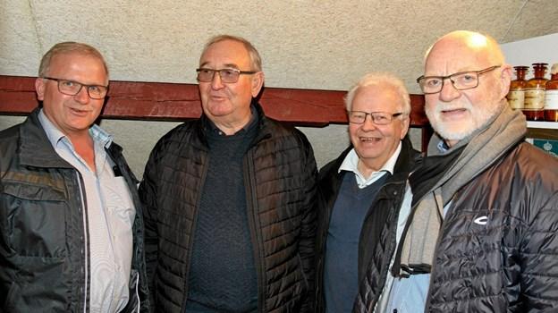 Sponsorerne er med på en rundvisning. Foto: Flemming Dahl Jensen Flemming Dahl Jensen