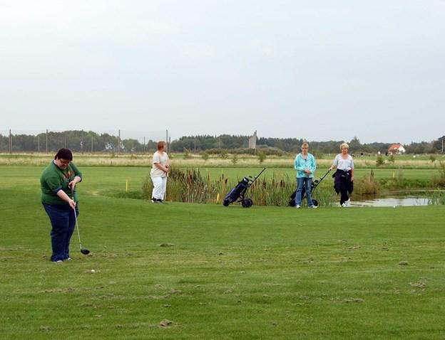 Golfklubben har åbningsmatch 31. marts. Arkivfoto