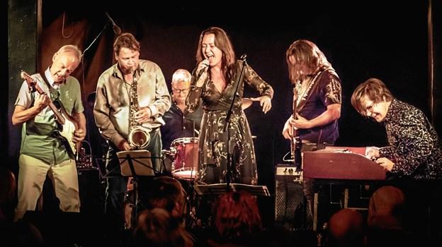 Grarup Allstars - giver lørdag 19. januar koncert i Kulturhuset i Arden. PR-foto