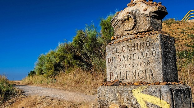 Der er foredrag om Caminoen. Foto: Jammerbugt bibliotekerne