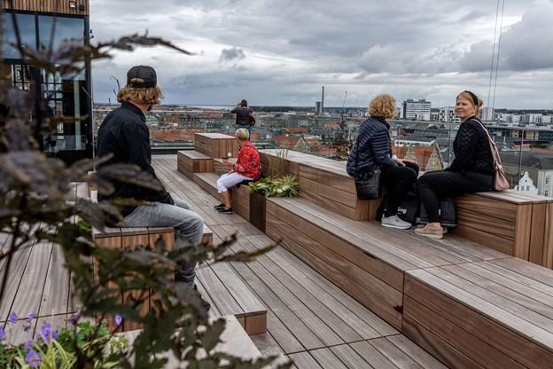 Salling har stort held med at tiltrække gæster til de mindre koncerter og events på tagterrassen.Arkivfoto: Nicolas Cho Meier