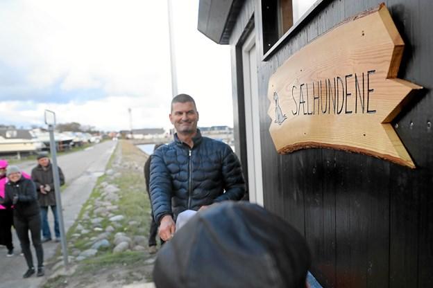 Sælhundene har fået nye saunafaciliteter. Foto: Allan Mortensen