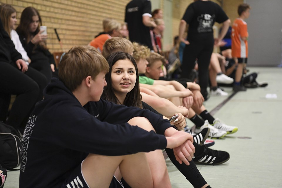 Foto Mette Nielsen   Efterskolernes idrætsdag i Hobro. Foto: Mette Nielsen