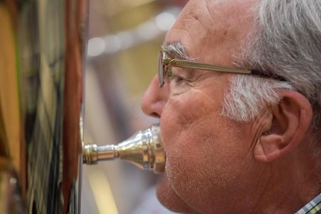Ti forskellige typer af instrumenter giver en harmoni.Foto: Henrik Louis