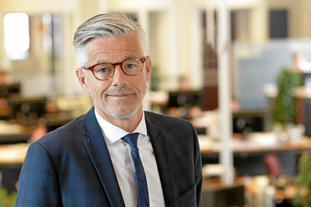 Administrerende direktør Carl Pedersen, Nordjyske Bank: Vi er stolte over igen i år at være med til at hylde de dygtigste nordjyske ledere. Privatfoto.