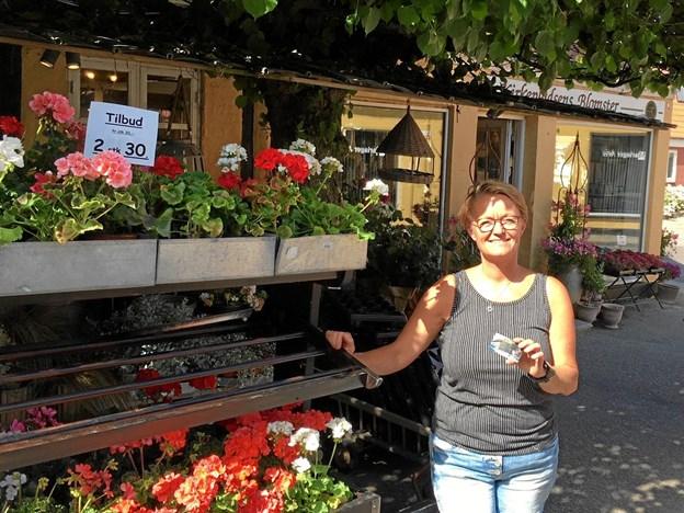 Mariager Gavekort kan foreløbig bruges i ni af Mariagers butikker. Privatfoto