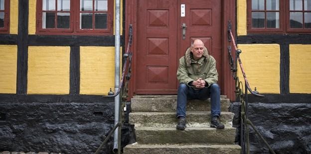 Museumsdirektør Lars Christian Nørbach konstaterer, at folk gerne vil møde museumsfolkene og historierne uden for.  Arkivfoto: Nicolas Cho Meier