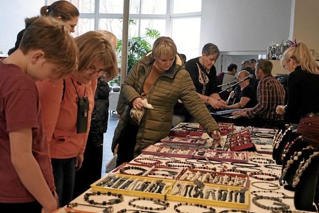 Kunst og hobbymese på Tolne efterskole. Foto: Peter Jørgensen Peter Jørgensen