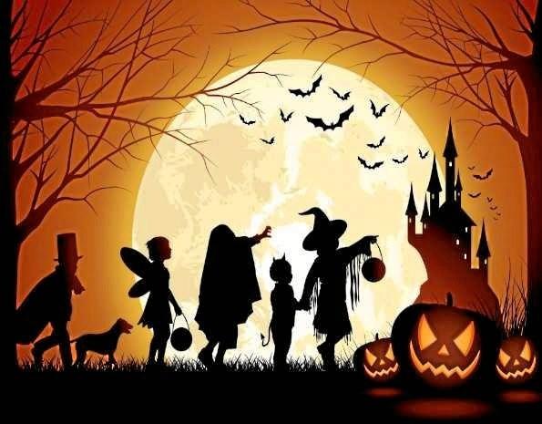 I den gamle folketro figurerede der både hekse, troldfolk og andre uhyggelige skikkelser, der vendte tilbage, når det var Halloween. Privatfoto.