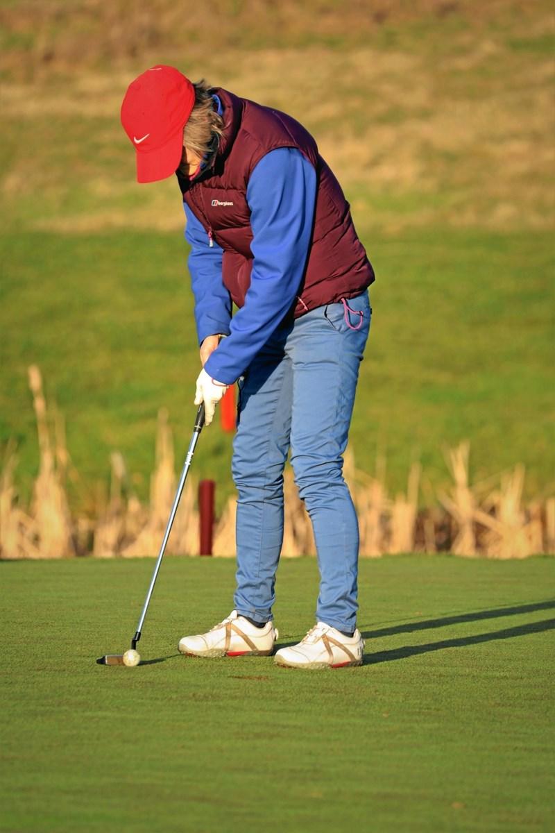 Hobro Golfklub tæller i dag cirka 500 medlemmer. Foto: TM & E-Air-view.dk