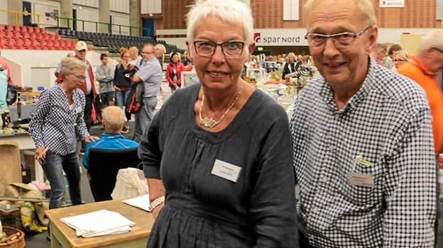 Laila Holt og Benny H. Bederholm forventer at hallen vil bugne at kvalitetsting fra mange egne af verden