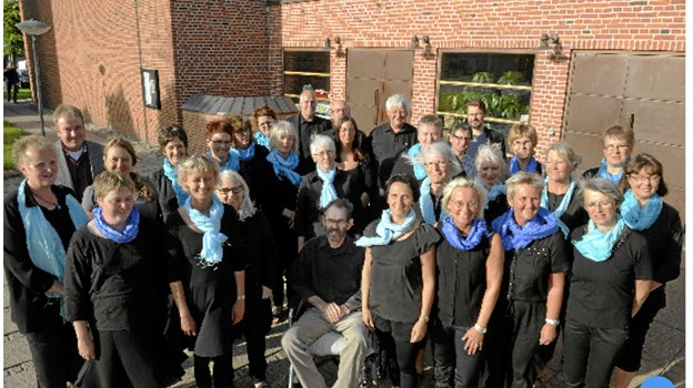 Blue Note Choir er det rytmiske kor ved Abildgård Kirke i Frederikshavn.Privatfoto