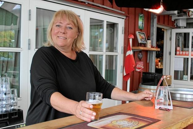 Tina Stenderup har været forpagter siden 2006 og medejer siden 2012. Foto: Pauline Vink