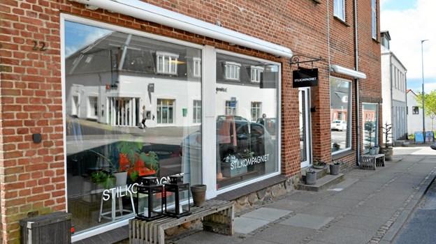 Stilkompagniet på Jyllandsgade i Skørping lukker, men butikken fortsætter under et andet navn... ?Foto: Jesper Bøss