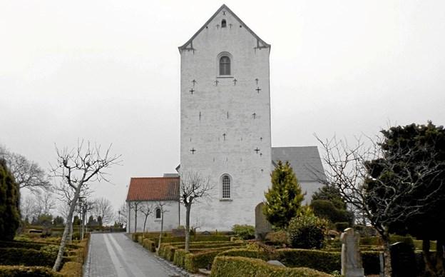 Den lokale kirke og den lokale konfirmandstue er søndag den 6. januar fra klokken 14.00 rammen om et Hellig Tre Kongers-arrangement. Foto: Kjeld Mølbæk