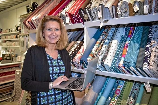 Pia Stjerslev forventer at webshoppen vil styrke den fysiske butik. Foto: Ole Iversen