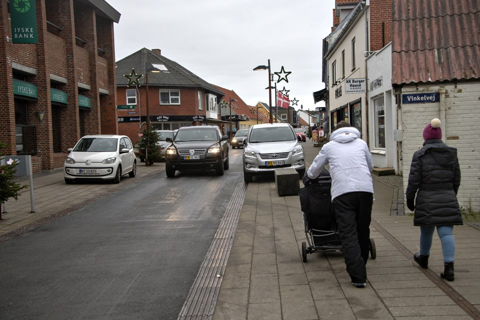 Flere butikker er på vej til at åbne i Nørregade. Foto: Kurt Bering Kurt Bering