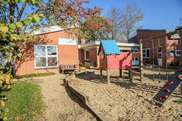 Byrådet lukker børnehaven Solstrålen i Vebbestrup, men privatskolen Solhverv står parat til at tage over og drive børnehaven videre. Arkivfoto: Peter Broen