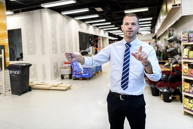 Vi har haft byggerod i området længe, men det er altså også blevet rigtigt godt, mener Thomas Nøhr Andersen.