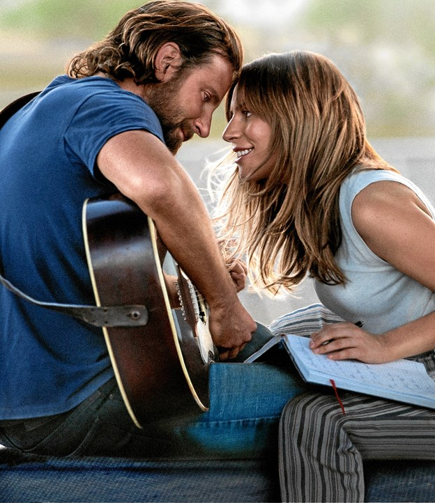 Lady Gaga og Bradley Cooper indtager de to hovedroller.