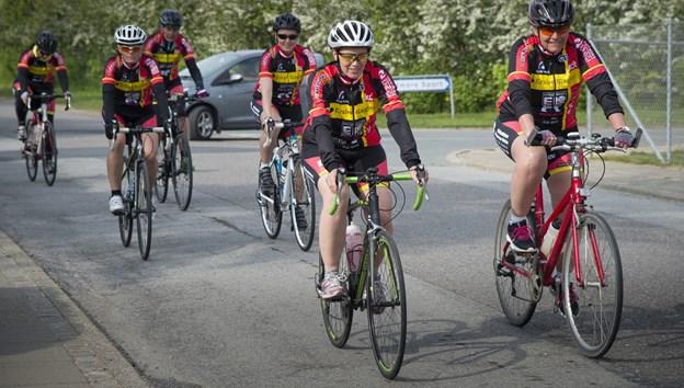 Morsø Cykelklub starter et nyt tiltag for mandfolk på mountainbikes. Arkivfoto.