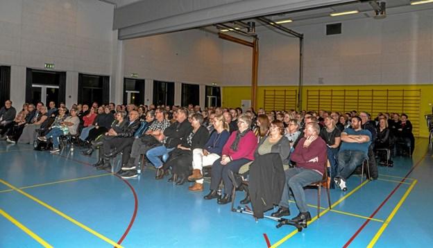 Tilslutningen var i top til Lindy Aldahls sjove foredrag i Lanternen. Foto: Mogens Lynge