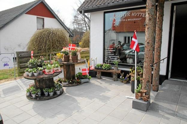 Butikken er smuk og anderledes. Foto: Flemming Dahl Jensen Flemming Dahl Jensen