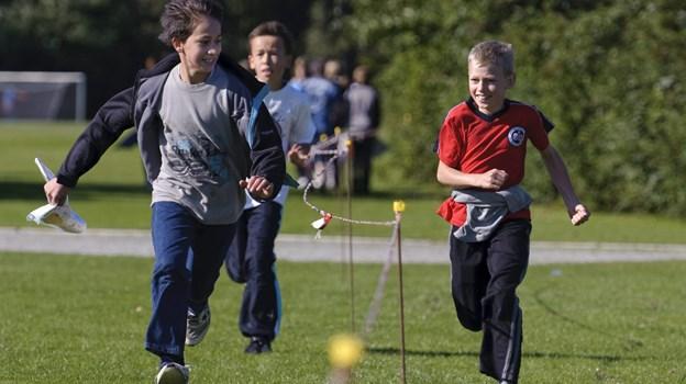 Rold Skov Orienteringsklub har tidligere arrangeret orienteringsløb for skoleelever. Arkivfoto: Martin Damgård
