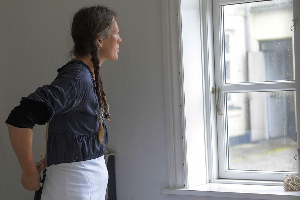 Kunstudstilling i  Hanstholm Foto: Diana Holm