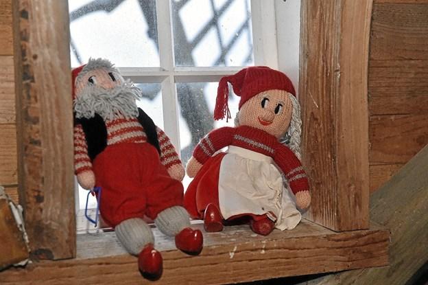 Julestemning i den 168 år gamle mølle. Foto: Ole Iversen Ole Iversen