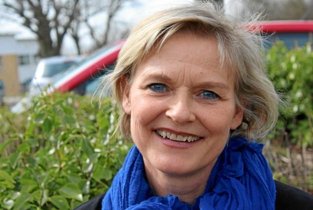 Charlotte Trier, 57 år, underviser på Fyrkatspillets Dramaskole, som mødes tre weekender for at øve - første gang 9./10. marts. Foto: Carl Johan Trier
