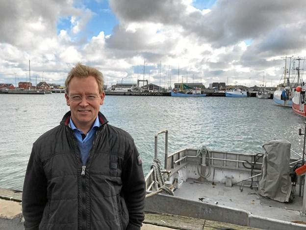 Jeg har altid været tiltrukket af østkysten og synes, der er en helt særlig atmosfære i Strandby Havn. By og havn hænger tæt sammen, og jeg vil se frem til at tage del i helheden, siger Christian Heidemann Andersen