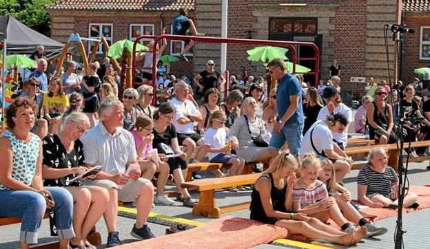 Festdag på Ingstrup Trivselsskole og - Børnehave. Foto: Flemming Dahl Jensen Flemming Dahl Jensen
