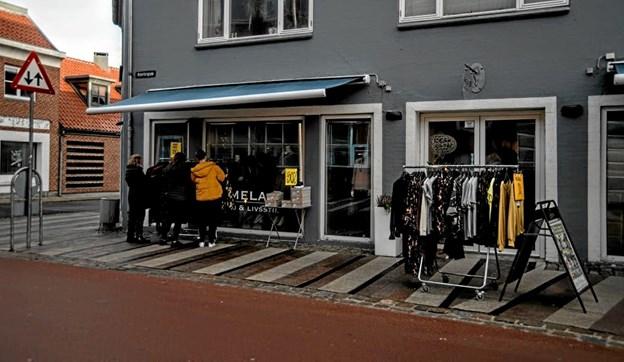 Der var mulighed for at spare penge i udsalgsperioden. Foto: Mogens Lynge Mogens Lynge