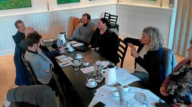 Den lokale arrangør-gruppe. Privatfoto