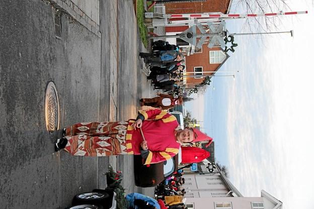 Selveste Pyrus var også kommet!- eller VAR det hans assistent? Foto: Hans B. Henriksen Hans B. Henriksen