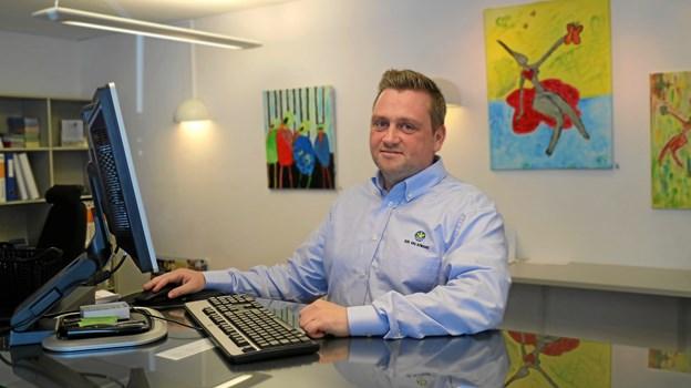 Emil Klastrup er kommet til efter større fokus på de enkelte bureauer i henholdsvis Hals og Blokhus. Pressefoto