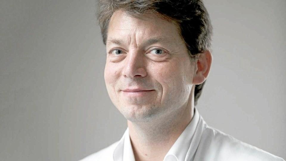 Oliver Hendricks fra Dansk Gigthospital i Sønderborg, kommer og fortæller om smertebehandling med medicinsk cannabis.Privatfoto