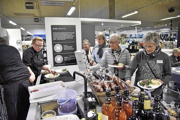 God mad fra Slagteren på Møllevej var klar hver gang der blev roteret.