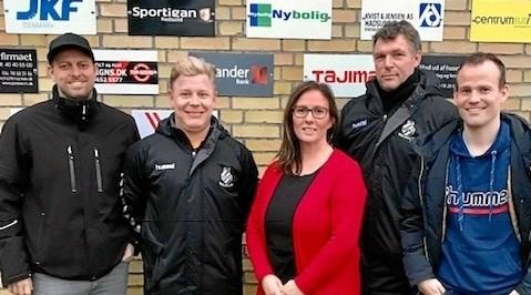 Den nye bestyrelse for Boldklubben Viking, Als anno 2019. ?Foto: Privat.