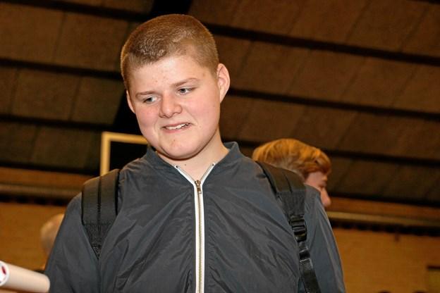 Jonathan Nielsen vil gå landbrugsvejen. Foto: Flemming Dahl Jensen