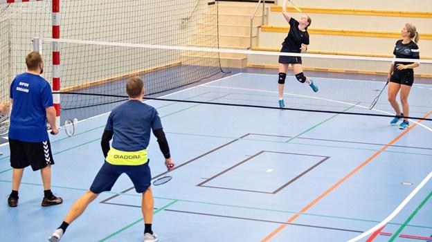 IFS, der er en idrætsforening for sindslidende, havde inviteret deltagere til julestævnet fra flere andre, nordjyske kommuner.  Foto: Kim Dahl Hansen