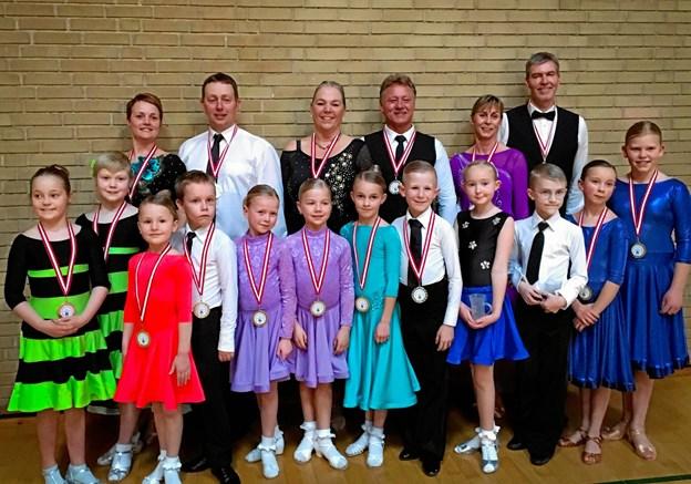 Glade og dygtige dansere. Privat foto.