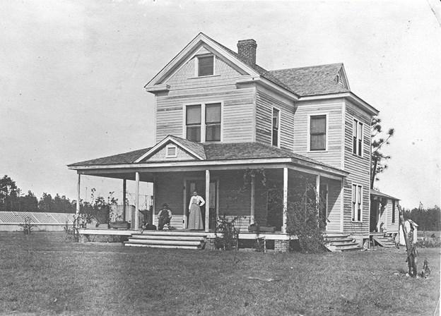 Carls hus i Albert Lea.