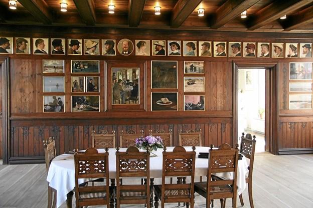 Brøndums spisesal er hjertet i Skagens Museum Foto: Skagens Kunstmuseer